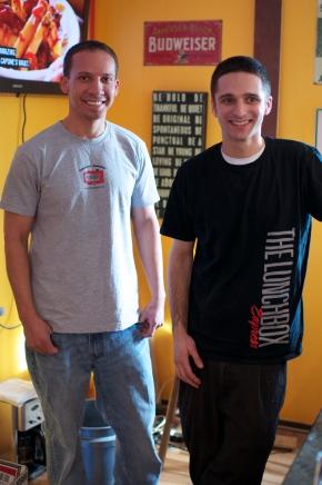 Joey and Dan
