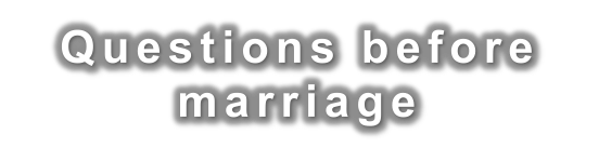 MarriageQuestions